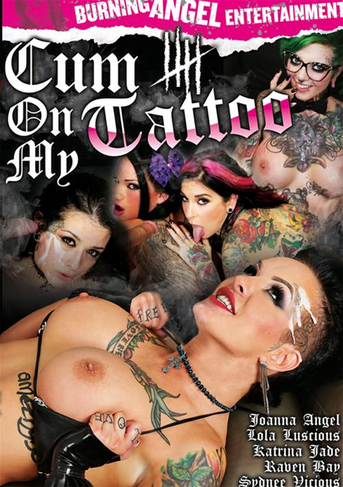 Cum On My Tattoo #5 – Burning Angel