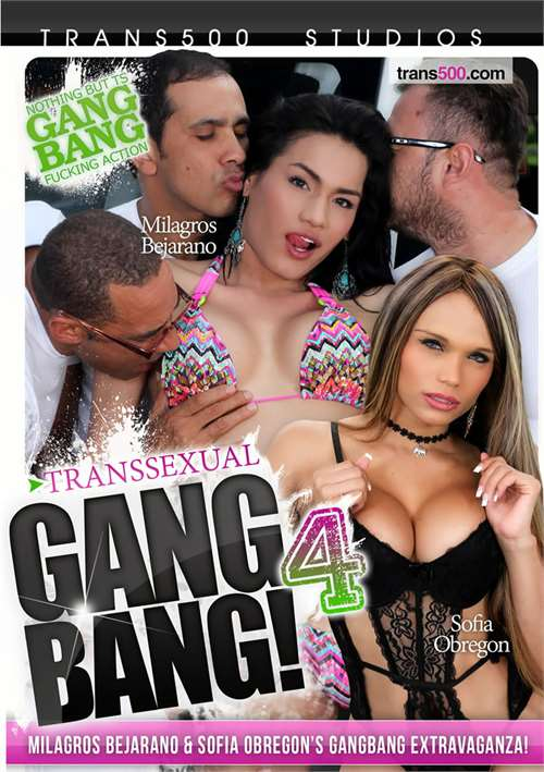 Transsexual Gang Bang! #4 – Trans 500