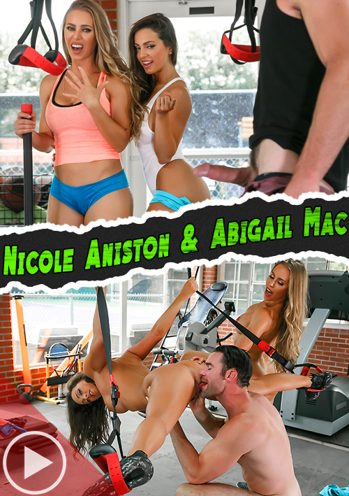 Gym And Juice (Nicole Aniston & Abigail Mac) – Brazzers