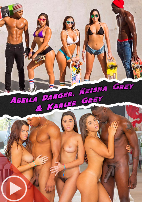 Squad Goals (Abella Danger, Keisha Grey & Karlee Grey)- Blacked
