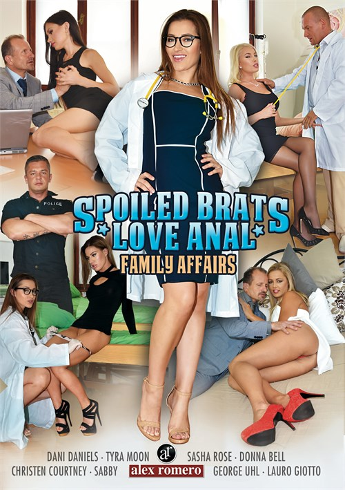 Family Affairs: Spoiled Brats Love Anal – Alex Romero