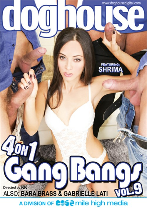 4 On 1 Gang Bangs #9 – Dog House