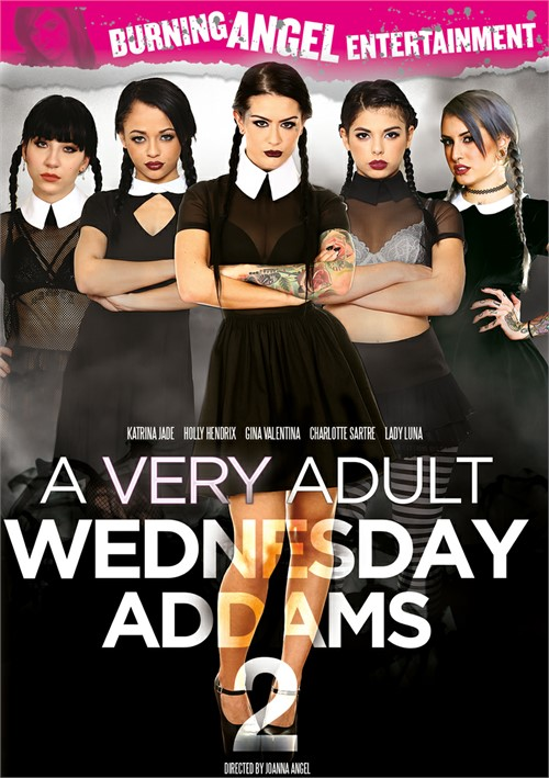 A Very Adult Wednesday Addams #2 – Burning Angel