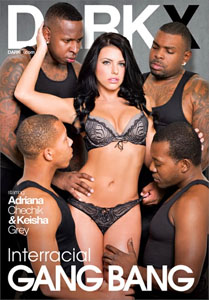 Interracial Gang Bang – Dark X