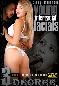 Young Interracial Facials – Third Degree