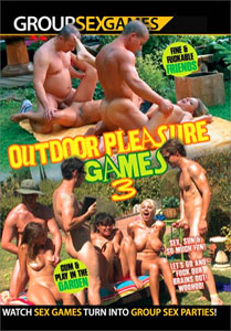 Outdoor Pleasure Games #3 – Group Sex Games