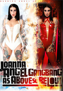 Joanna Angel Gangbang: As Above So Below – Burning Angel