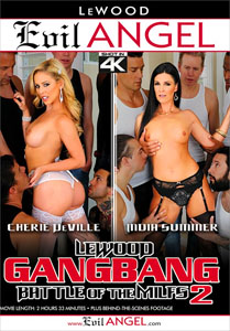 LeWood Gangbang: Battle Of The MILFs #2 – Evil Angel