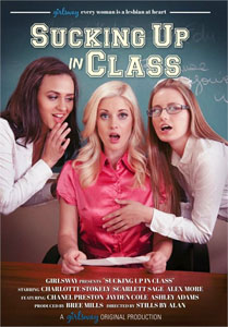 Sucking Up In Class – Girlsway